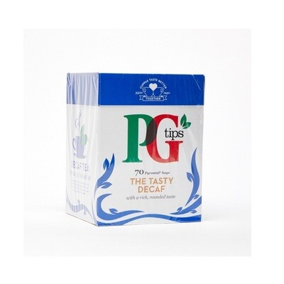 PG Tips Decaf 70 Pyramid Bags 203g