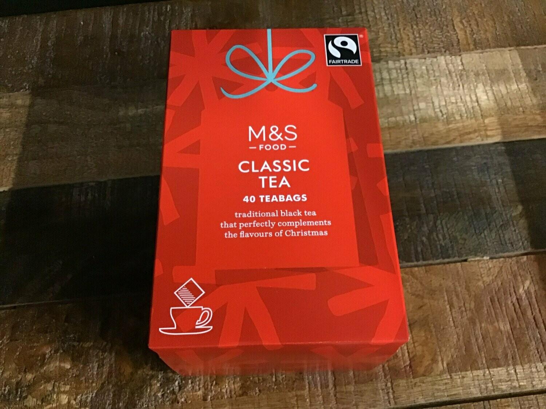 M&S Food Classic Tea 40 Bags 125g