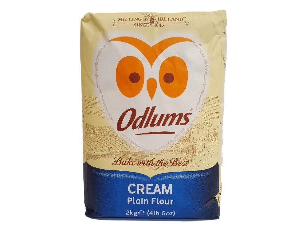 Odlums  Cream Plain Flour 2000g