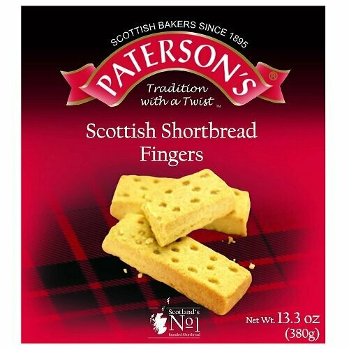 Patersons Shortbread Snack Packs 4 Pack 400g