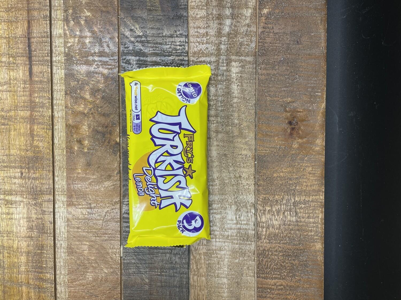 Fry's Turkish Delight Lemon 3 Pack 153g