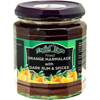 English Fayre Orange with Dark Rum & Spices 340g