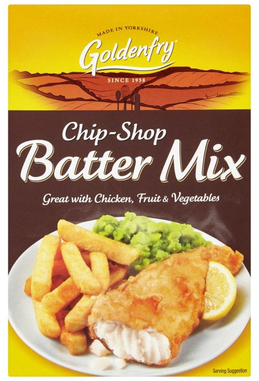 Goldenfry Chip-shop Batter Mix 170g
