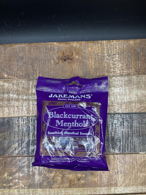 Jakemans Blackcurrant Menthol 100g