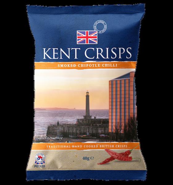 Kent Crisps Smoked Chipotle Chilli 40g