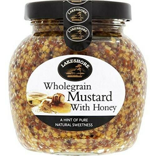 Lakeshore Wholegrain Mustard with Honey 205g