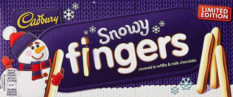 Cadbury Snowy Fingers 230g