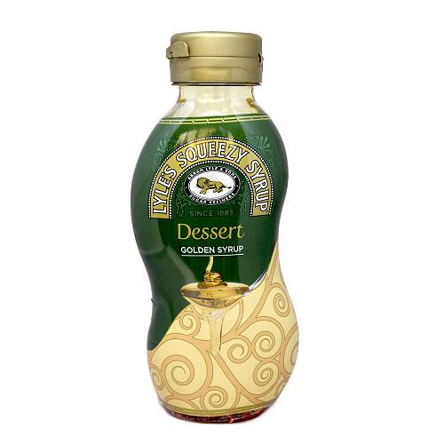 Lyles Squeezy Syrup Dessert Golden Syrup 325g