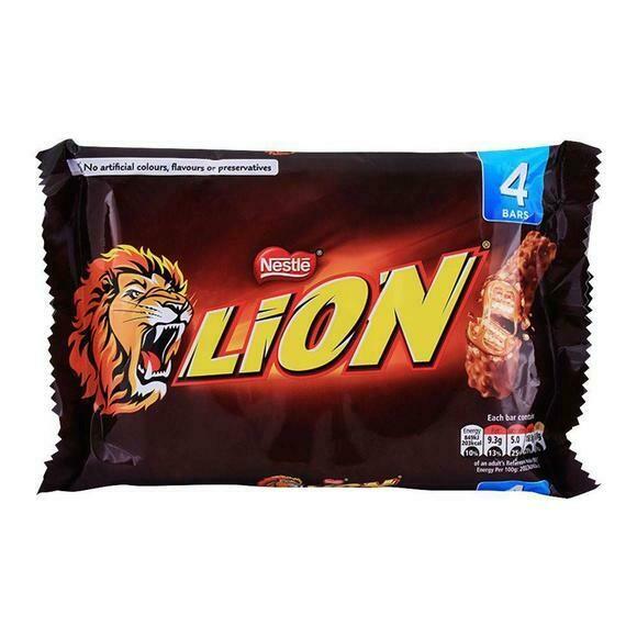 Nestle Lion Bar 4 Pack 4x30g