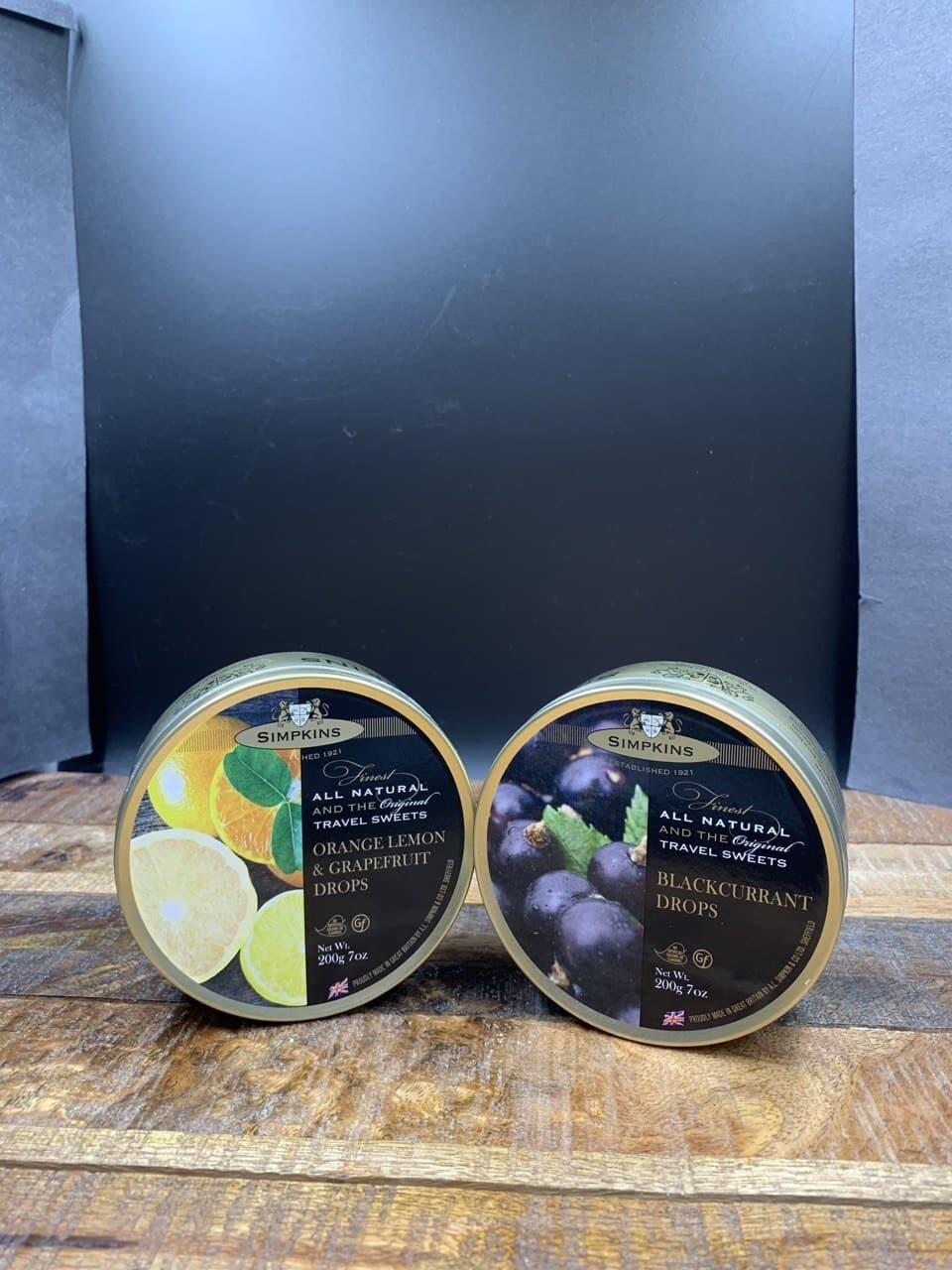 Simpkins Orange Lemon & Grapefruit Drops 200g
