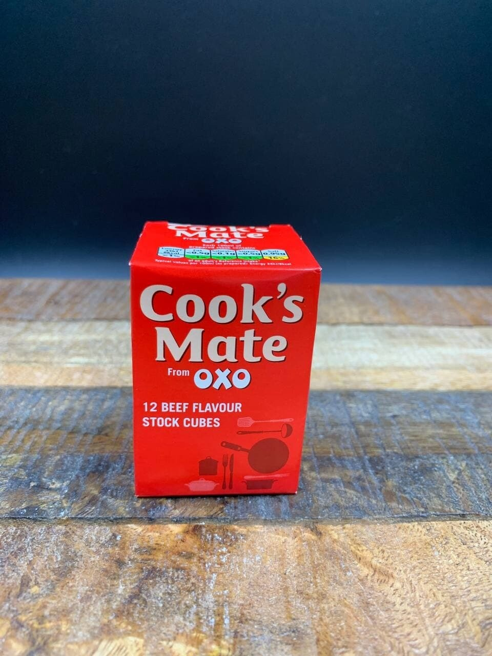 Cook's Mate From OXO 12 Beef Flavour Stock Cubes 71g