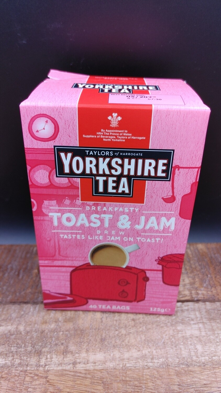 Yorhshire Jam Toast