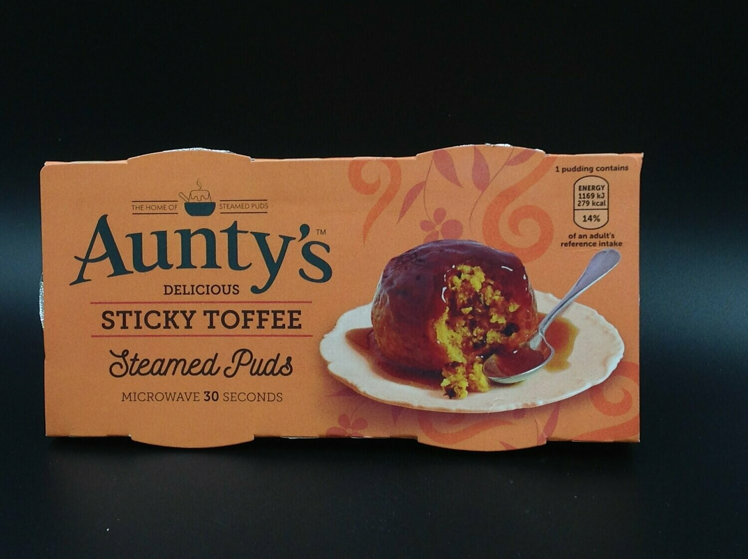 Aunty's Sticky Toffee Steamed Puds 2x95g