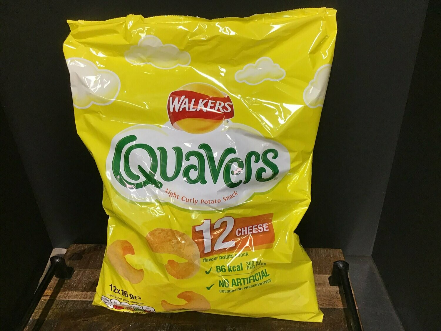 Walkers Quavers Cheese 6 Pack 96g