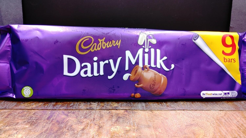 Cadbury Dairy Milk 9-Pack