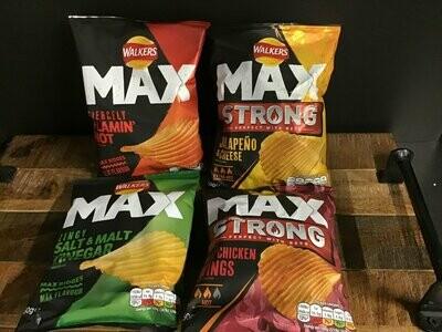 Walkers Max Zingy Salt & Malt Vinegar  50g