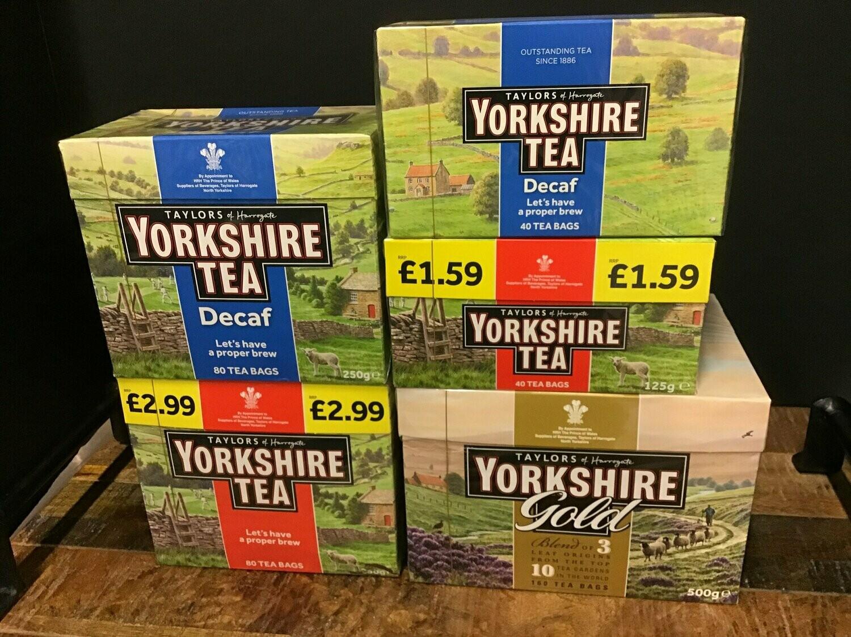 Yorkshire Tea Decaf 80 Bags 250g