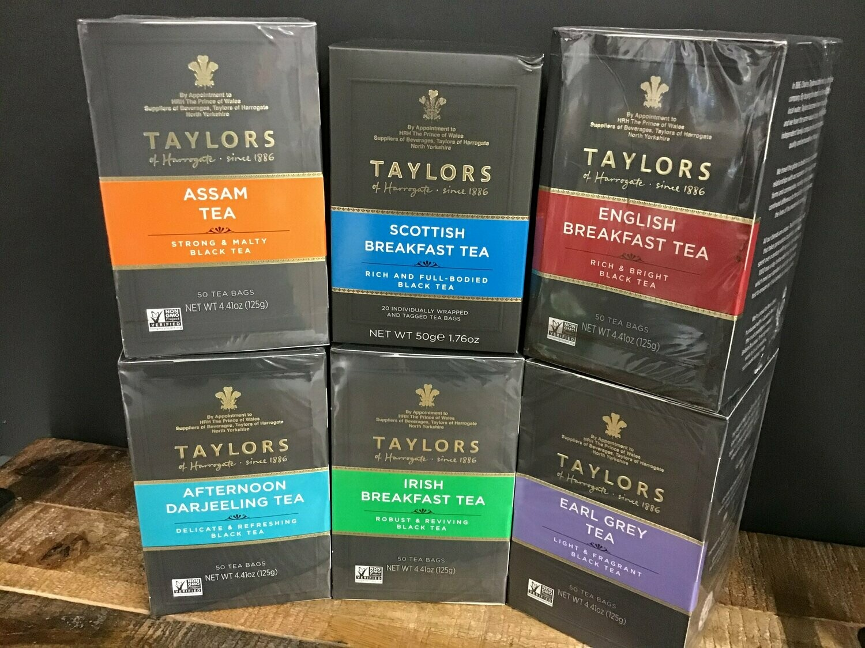 Taylors Earl Grey Tea 50 Bags 125g