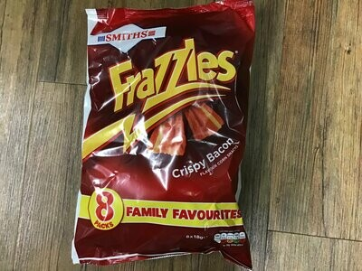 Smiths Frazzles Crispy Bacon 8 Packs 144g