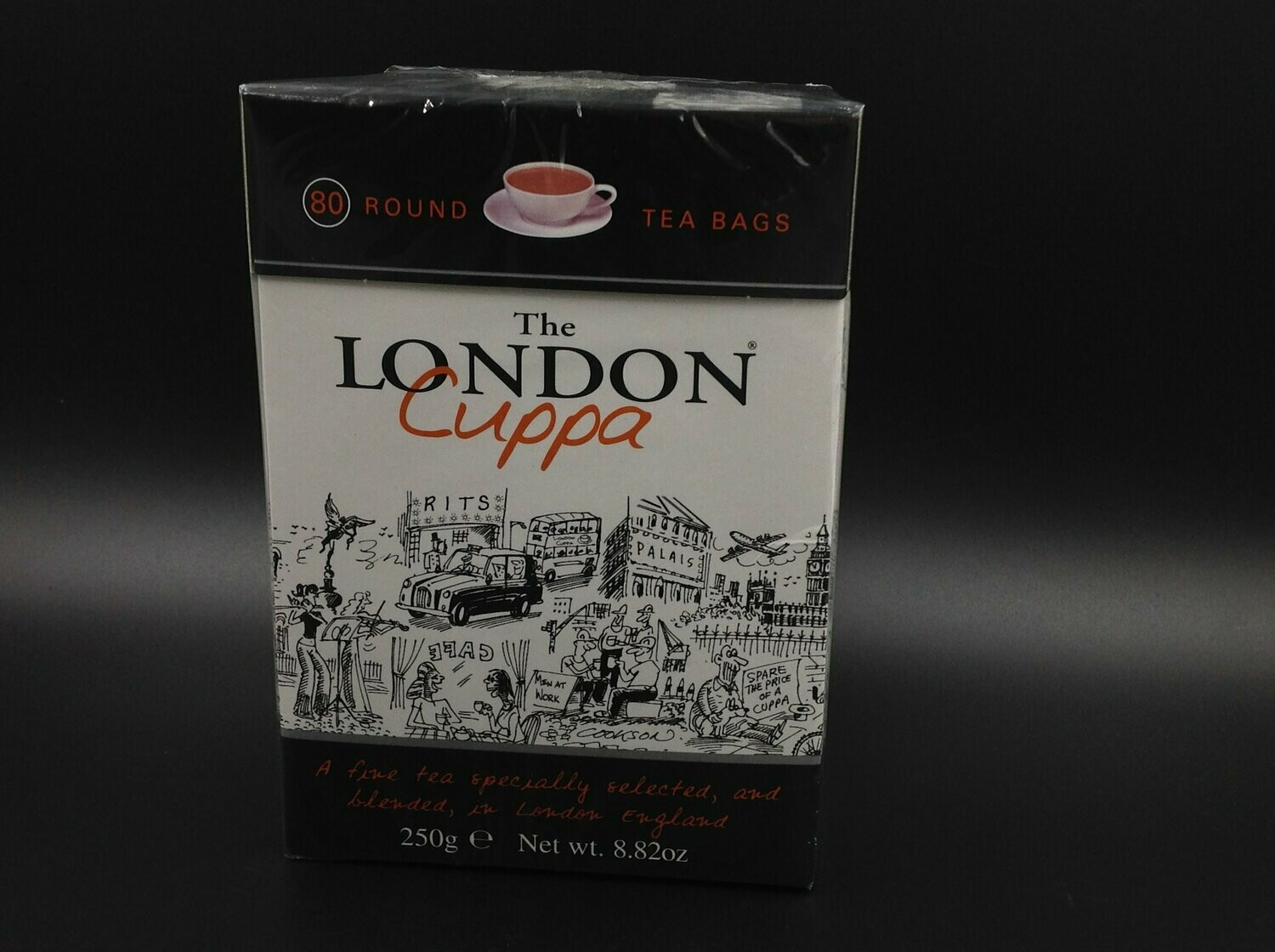 The London Cuppa 80 Bags 250g