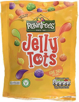Rowntree Jelly Tots 4 Bags 112g