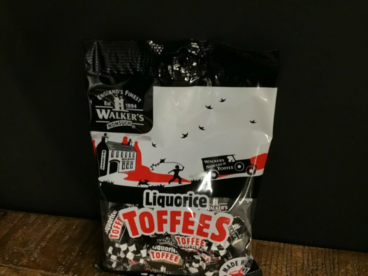 Walkers Liquorice Toffees 150g