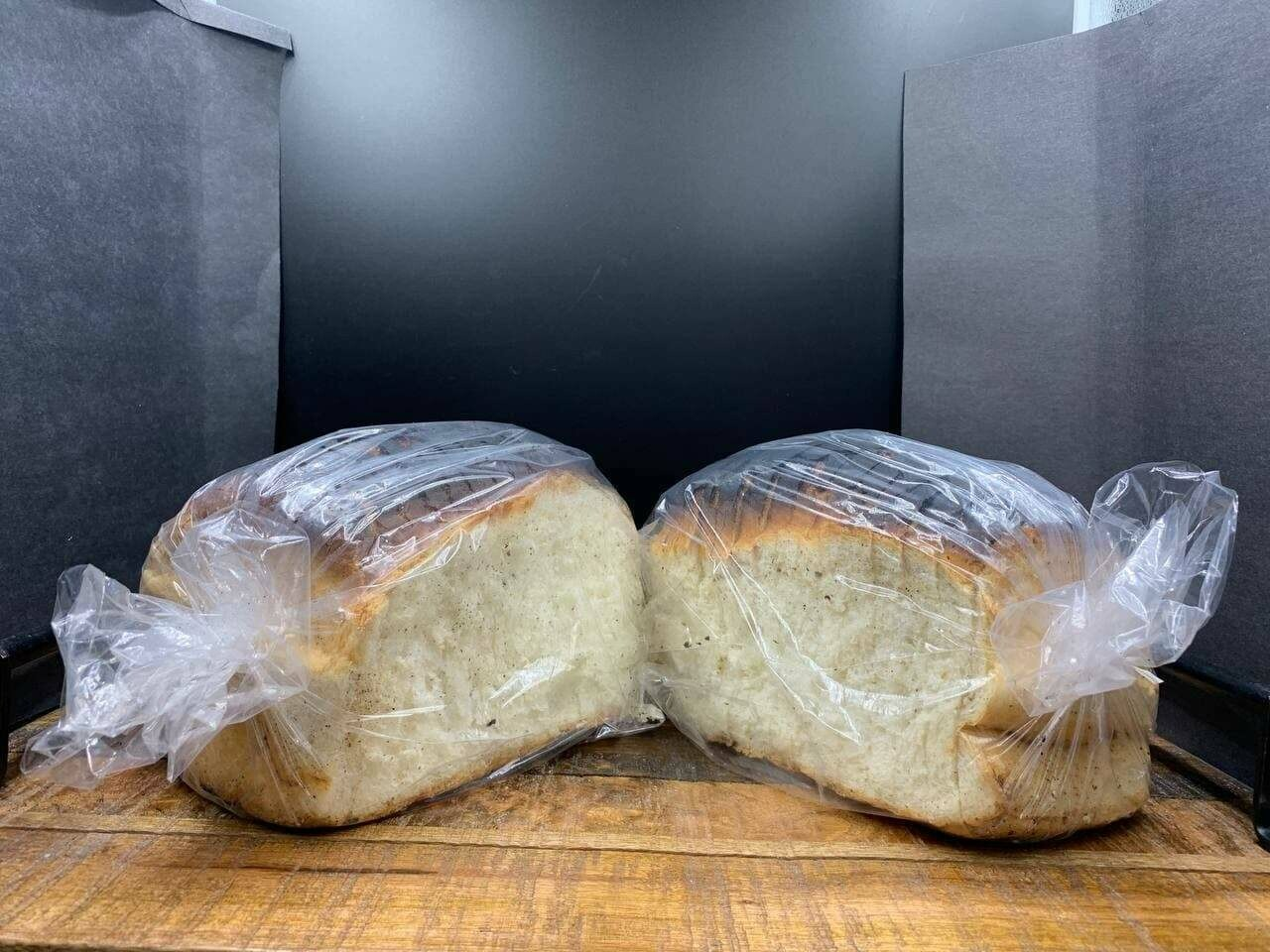 Well fired bread sliced