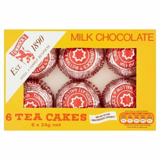 Tunnocks Tea Cakes 144g