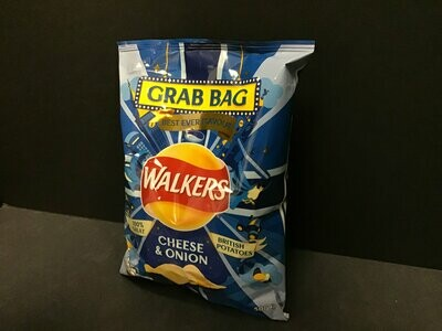 Walkers Oven Baked Cheese & Onion Crisps 37.5