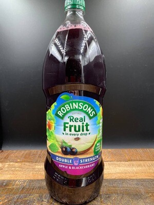 Robinsons Double Strength Apple & Blackcurrant 1750ml
