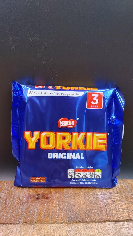 Yorkie Original 3-Pack 3x46g