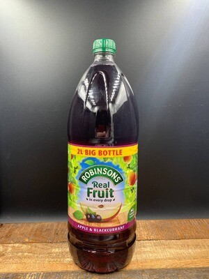Robinsons Apple And Blackcurrant 2000ml