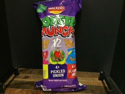 Walkers Monster Munch 12 Pack 264g