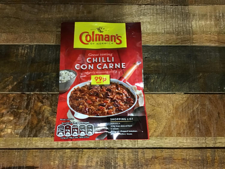 Colman's Chilli Con Carne