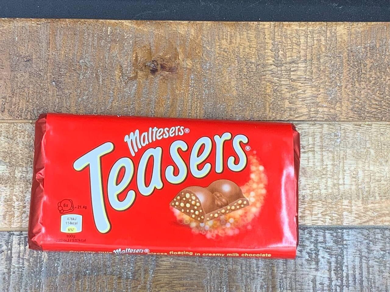 Teasers Bar 100g