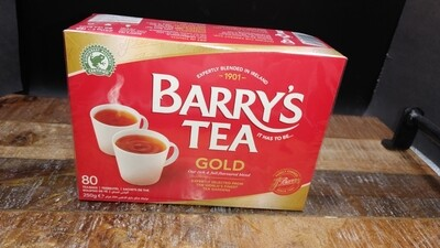 Barrys Gold 80 Bags 250g