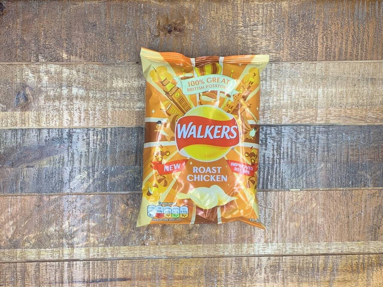 Walkers Roast Chicken 32.5g