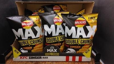 Walkers Max Double Crunch KFC Zinger Crisps