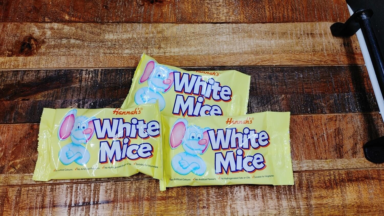 Hannah's White Mice 40g