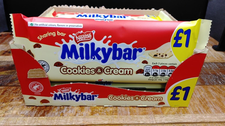 Milkybar Cookies & Cream 90g