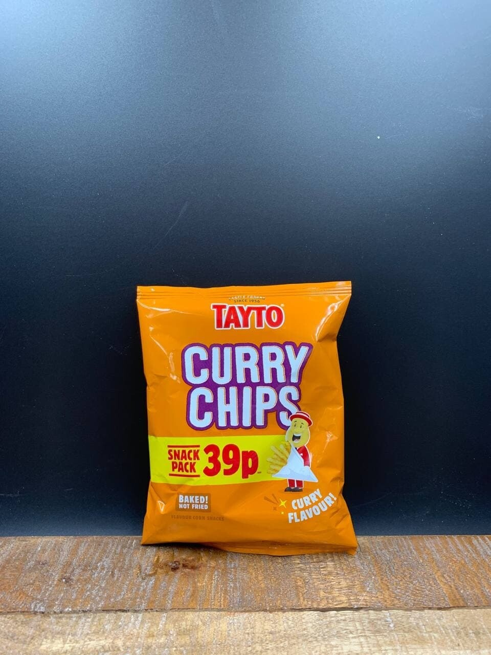 Tayto Curry Chips 35g