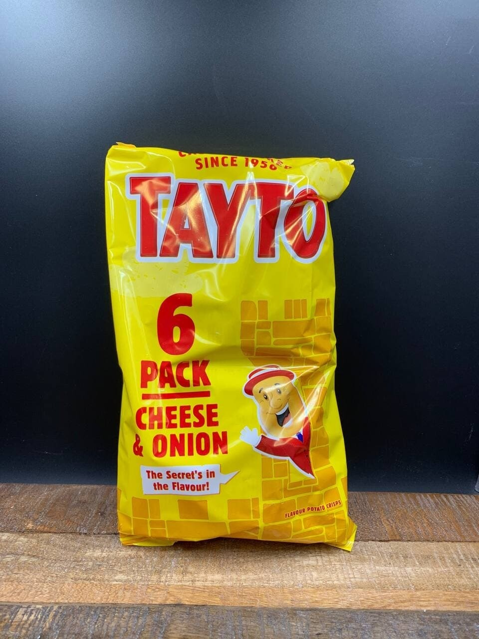 Tayto 6-Pack Cheese & Onion