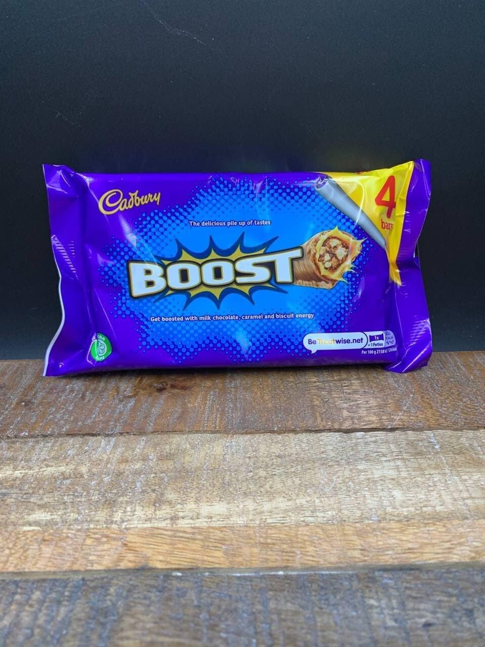 Boost 4 Pack 4x34g