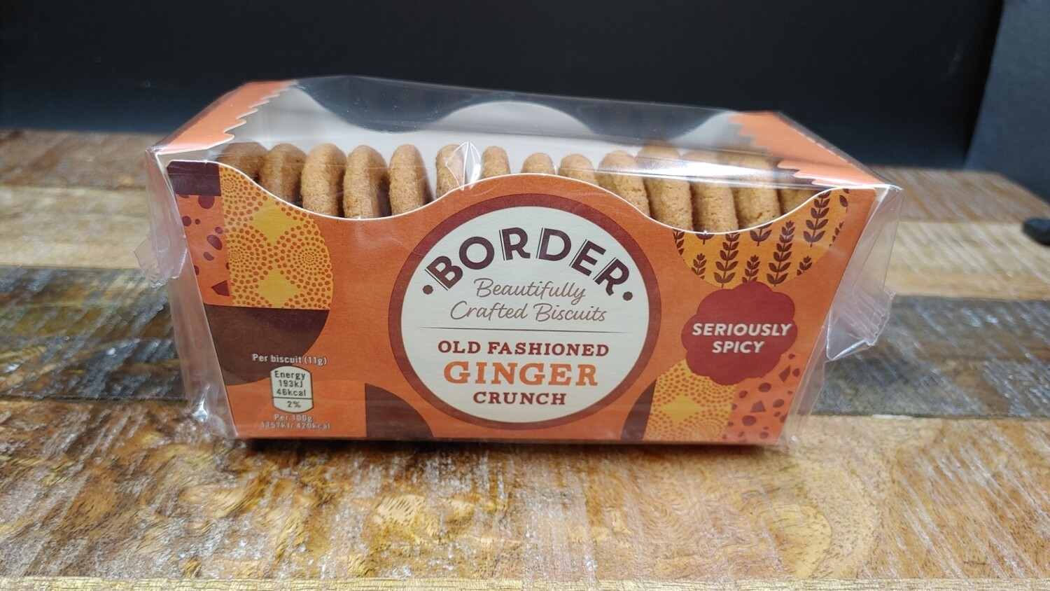 Borders Gingers 150g