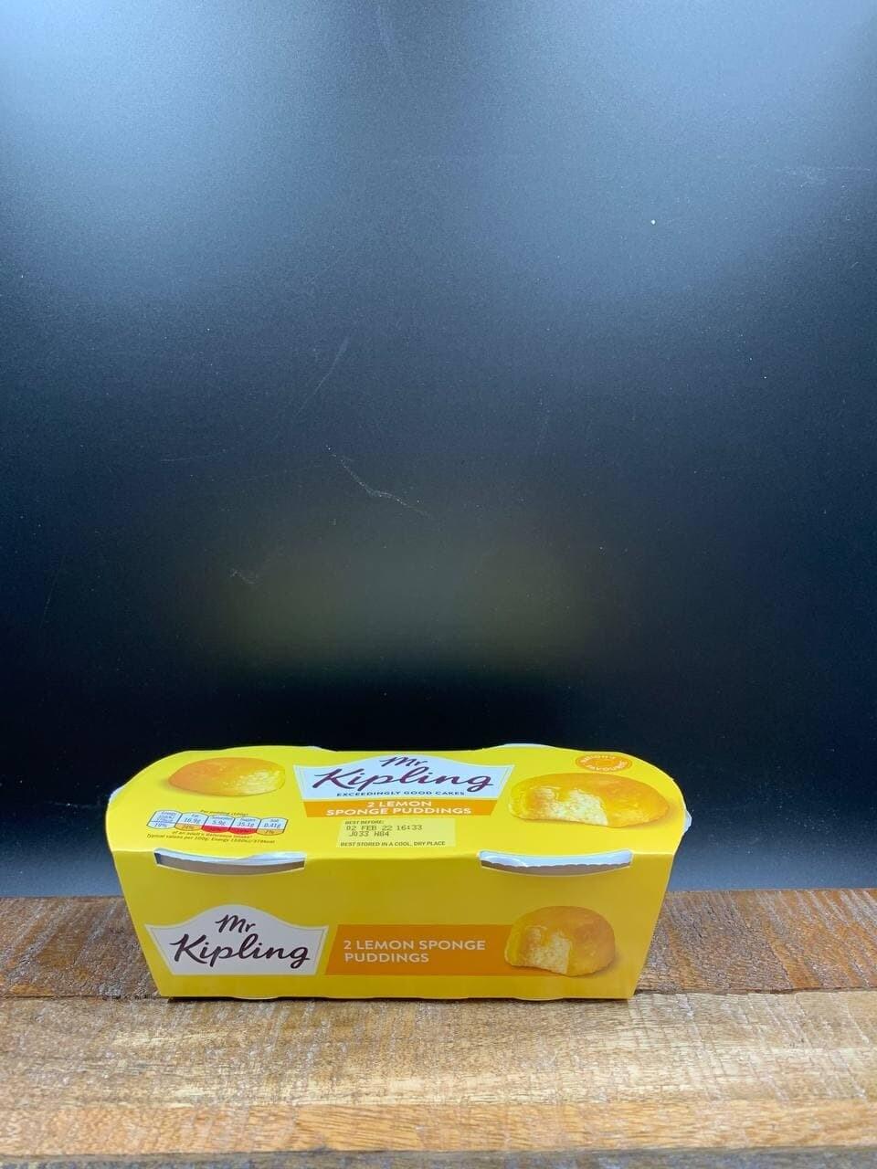 Mr. Kipling Lemon Sponge Puddings 2x108g