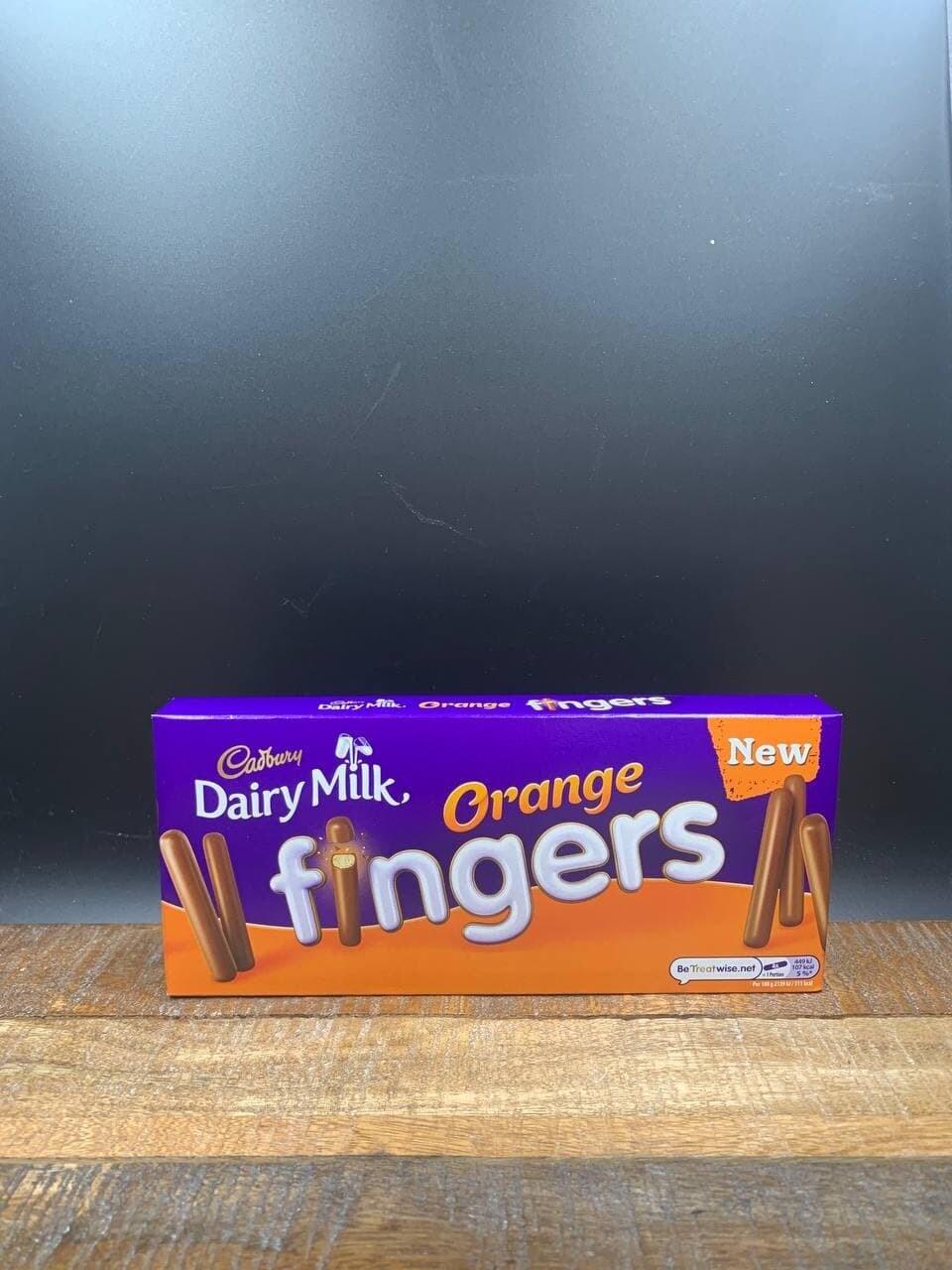 Cadbury Chocolate Orange Fingers