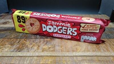 Jammie Dodgers Raspberry Biscuits 140g