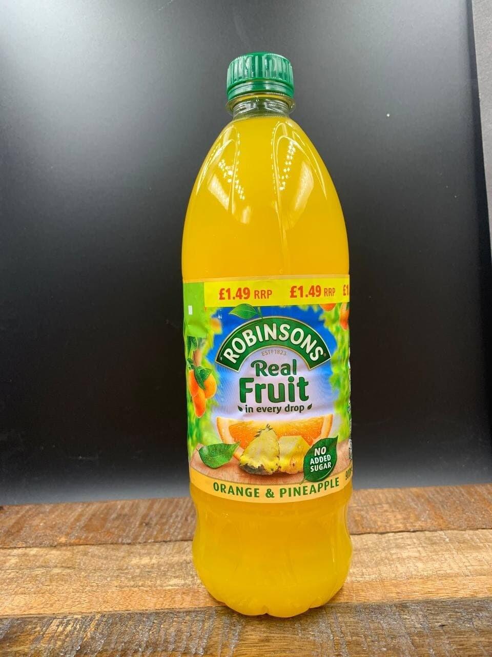 Robinsons Real Fruit Orange & Pineapple 900ml