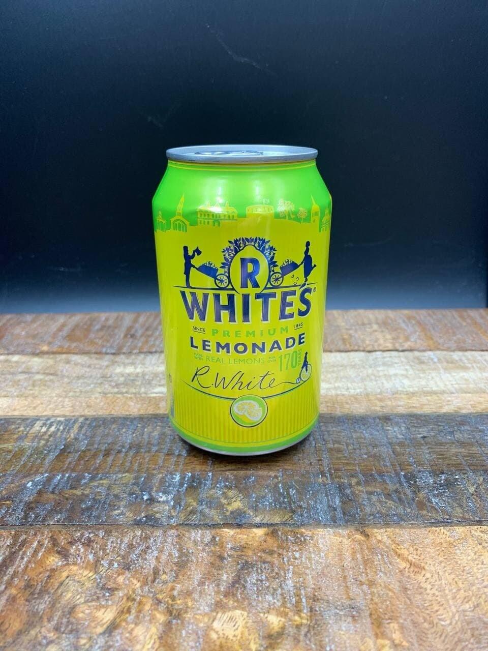 R Whites Premium Lemonade 330ml