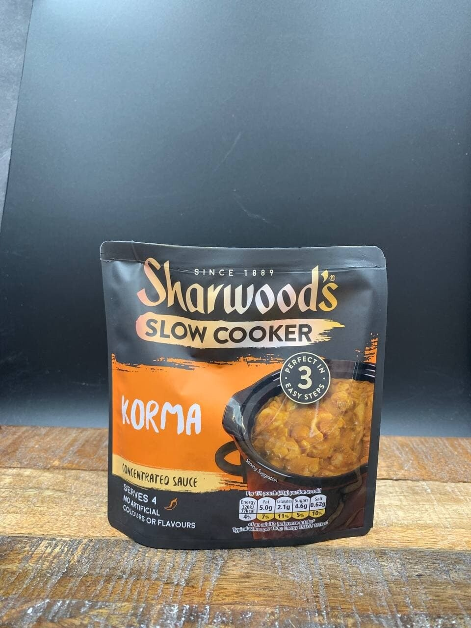 Sharwoods Slow Cooker Korma 170g